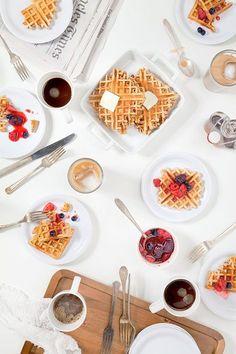 Coffee waffles. | Designlovefest