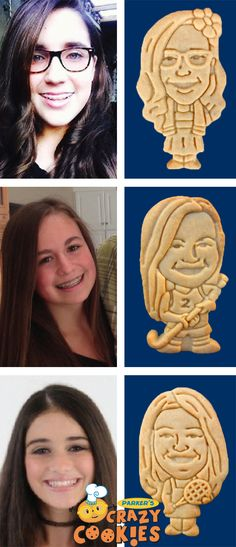 Throw a bat mitzvah party know one will ever forget!! Create a one of a kind custom cookie of your bat mitzvah girl and watch as your guests will giggle with delight! Discover the magic at www.parkerscrazycookies.com As seen on the Food Network Channel and the Today Show.