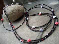 Moois van ' M(i)e': juwelen/jewelry : DIY : project : duoketting/2-string necklace