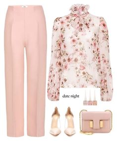 """Untitled #376"" by anaalex ❤ liked on Polyvore featuring Fendi, Giambattista Valli, Tom Ford, Gianvito Rossi, Christian Louboutin and summerdatenight"