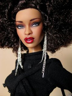 Fashion dolls showing us how beautiful we are rocking hair other than straight, shiny and long