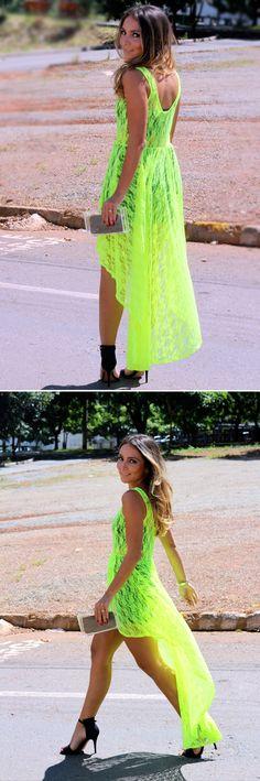 Beautiful Lala Noleto in neon!!!!!