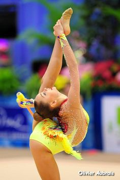 Arina Averina (Russia) won bronze in clubs finals at World Cup (Sofia) 2016