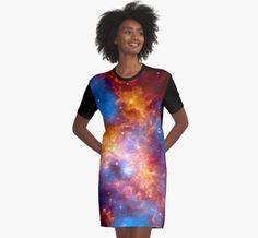 #redbubble #sandyspider #doradus #tarantula #nebula #tshirtdress #dress #fashion #womens