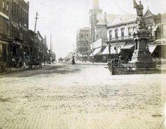 Diamond 1890 East Liverpool Ohio, Liverpool History, Old Photos, Street View, Happiness, Memories, Diamond, Places, Sweet