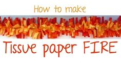 """I have decided to post this simple tutorial first since I am going to be using this """"fire"""" on several items (banner, party hats).     Thi..."""