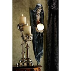 Grim Reaper Wall Sculpture