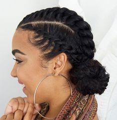 Twist Hairstyles for Short Hair. 29 Luxury Twist Hairstyles for Short Hair. 75 Most Inspiring Natural Hairstyles for Short Hair In 2019 Flat Twist Hairstyles, Braided Hairstyles For Black Women, Girl Hairstyles, Black Hairstyles, Hairstyles 2016, School Hairstyles, Natural Hairstyles, African Hairstyles, Relaxed Hairstyles