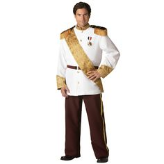 Prince Charming Elite Collection Adult Plus Costume