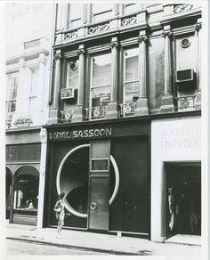 Vidal sassoon on pinterest mary quant salons and actresses for 108 new bond street salon