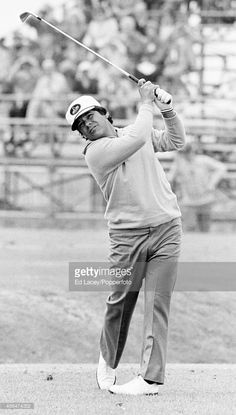Lee Trevino of the United States in action during the British Open Golf Championship at the Carnoustie Golf Club in Angus, Scotland on 10th July, 1975.