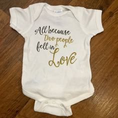 This incredibly sweet onesie. | 19 Adorable Outfits To Bring Your Newborn Baby Home In