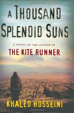 """A Thousand Splendid Suns by Khaled Hosseini.   """"You will feel like you are IN the burka!  An amazing story of two women, told by a man."""""""