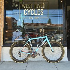 Parlee Z-Zero Custom Golf Racing Paint Job | West River Cycles