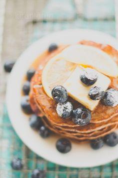Blueberry Lemon Pancakes [Kiran Tarun]