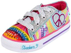 Amazon.com: Skechers Twinkle Toes S Lights Heart Sparks Lighted Sneaker (Toddler/Little Kid/Big Kid): SIZE 9 OR 10