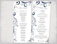 wedding program software free download