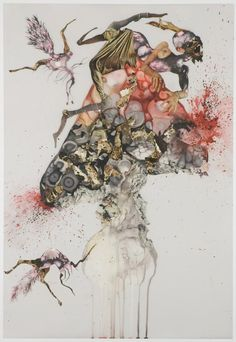 Howl (2006) by Wangechi Mutu #backtoartschool #collage