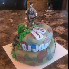 G.I. Joe Cake