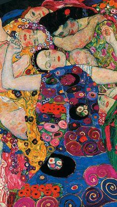 Art Du Monde, Klimt Art, Famous Art, Art Moderne, Psychedelic Art, Pretty Art, Aesthetic Art, Art Inspo, Painting & Drawing