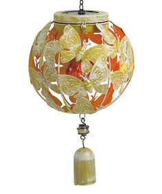 This Yellow Solar Wind Bell by Transpac Imports is perfect! #zulilyfinds