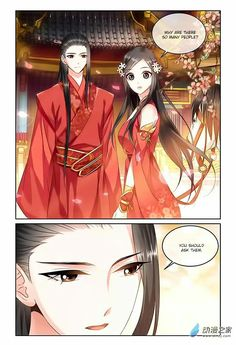 Just One Smile Is Very Alluring Manhua / ch.8  They are so  pretty