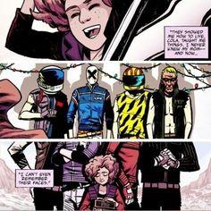 Killjoys comic book exert
