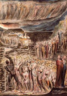 Illustration by William Blake | trueoutsider