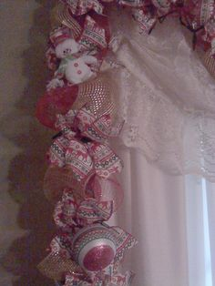 Garland for my French doors