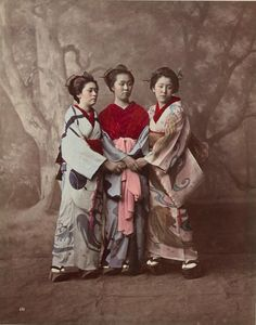 68eca4cbe Девушки Japanese History, Japanese Beauty, Japanese Culture, Old  Photography, History Of Photography