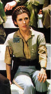 Endor Princess Leia