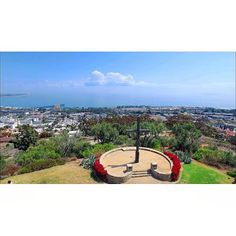 Ventura life.    View from Grant Park by www.instagram.com/gobbellmedia #downtownventura #grantpark #ventura #venturalife