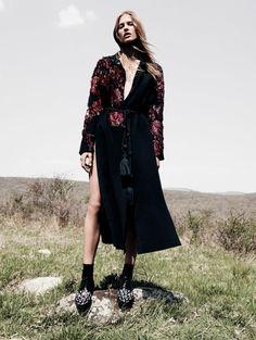 Laura Julie by Daniel Jackson for Vogue China September 2015