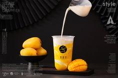黑研舍 chinese style Of bubble milk tea Bubble Tea Menu, Bubble Drink, Bubble Tea Shop, Bubble Milk Tea, Top Drinks, Fruit Drinks, Summer Drinks, Food Menu Design, Tea Recipes