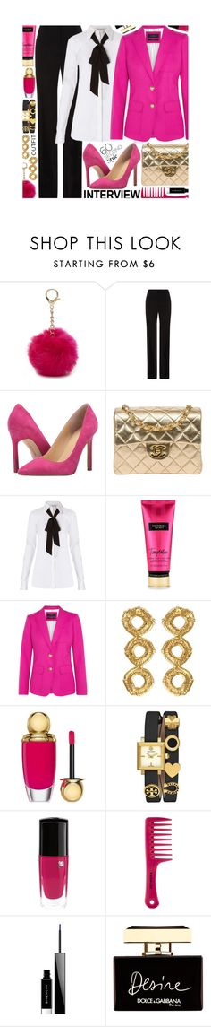 """""""Job Interview: Contest Entry"""" by isquaglia ❤ liked on Polyvore featuring Nine West, BOSS Hugo Boss, Ivanka Trump, Chanel, Diane Von Furstenberg, J.Crew, Christian Dior, Tory Burch, Sephora Collection and Givenchy"""