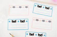 Gabulle in Wonderland: Etiquettes à imprimer pour la rentrée, printable for school
