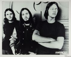 America Home Coming 1972 New Album Promo Vintage B/W Cardboard Poster 22 x 27