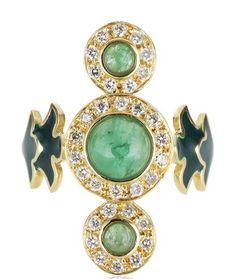 Sabine G Verde Ring