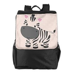 Cute Zebra Outdoor Travel Backpack Bags Daypack Bookbags Travel Bag * Find out more about the great product at the image link-affiliate link #OutdoorAccessories