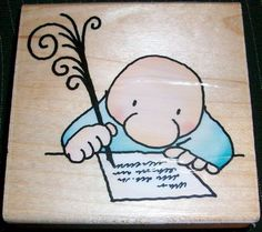 ZIGGY SINCERELY YOURS Stamp GQ009 Stampendous Tom Wilson Made in USA Brand New #Stampendous #CartoonCharacter