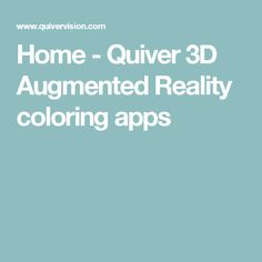 Home - Quiver 3D Augmented Reality coloring apps