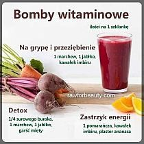 Smoothies na serce Zmieszaj w blenderze 1 filiżankę mr… na Stylowi.pl Healthy Juice Drinks, Healthy Juices, Smoothie Drinks, Fruit Smoothies, Healthy Smoothies, Helathy Food, Raw Food Recipes, Healthy Recipes, Smothie