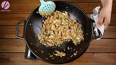 Chicken fried rice is one of the menus that you can serve to anyone, any time! My chicken fried rice recipe is healthier because I'm using brown jasmine ric Thai Grilled Chicken, Fried Chicken, Tofu Recipes, Curry Recipes, Simple Beef Curry, Chow Fun Recipe, Fried Rice Recipe Video, Spicy Miso Ramen Recipe