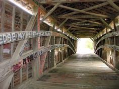 Union Covered Bridge, Monroe County, Missouri - Travel Photos by Galen R Frysinger, Sheboygan, Wisconsin
