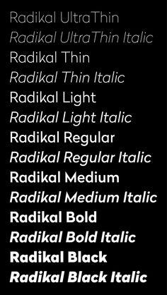 radikal font - Google Search