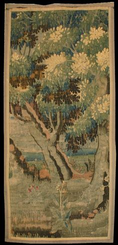 Antique French Verdure Tapestry