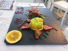 #Tuna #carpaccio at #IlPatio restaurant in #CastellammareDelGolfo