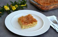 Εύκολη, αφράτη τυρόπιτα με φύλλο κρούστας (VIDEO) - cretangastronomy.gr Sticky Buns, Lasagna, Quiche, French Toast, Rolls, Easy Meals, Breakfast, Tarts, Ethnic Recipes