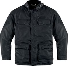 Icon 1000 Akorp Jacket - Resin Black | Products | Ride Icon