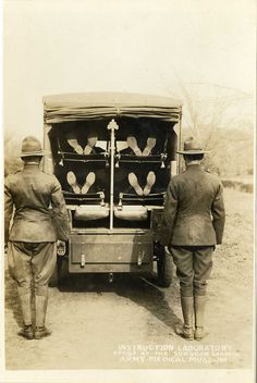 Ambulance Drill  National Museum of Health and Medicine  United States of America  Photographs World War I